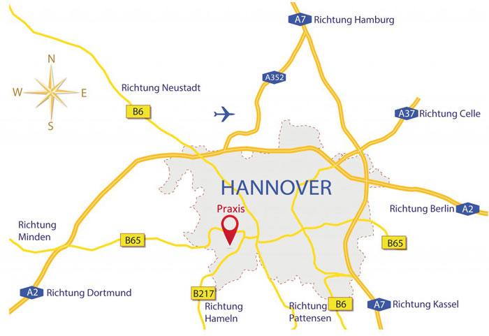 hannover-dental-location